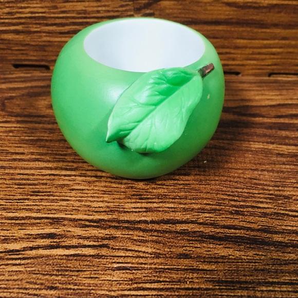 PARTYLITE green apple tea light holder!